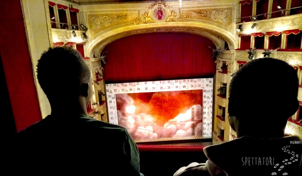 Con il Teatro di Roma e la scuola di italiano Asinitas